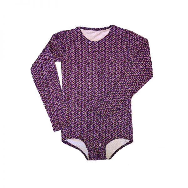girls-special-needs-long-sleeve-oneise - Special Needs Incontinence Clothing by Preventa Wear