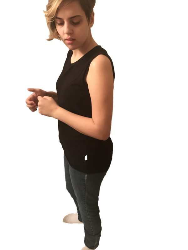 bottom hug tank top - Incontinence Clothes, Special Needs Bodysuit - Preventa Wear